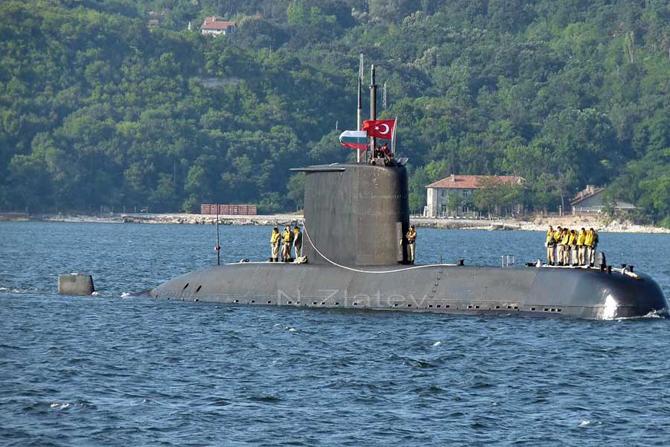 1. İnönü Denizaltısı Rize'de 2 Gün Halkın Ziyaretine Açılacak