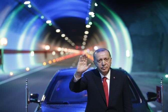 138 Yıllık Hayal Gerçek Oldu: Cumhurbaşkanı Erdoğan, Ovit Tünelini Hizmete Açtı