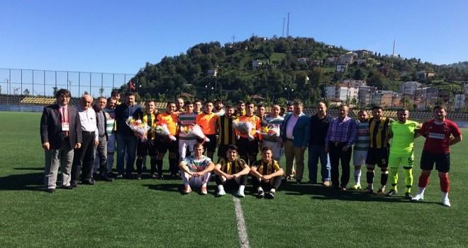 Rize 1. Amatör Ligi Derepazarı spor ile Güneysu spor arasındaki maç ile start aldı