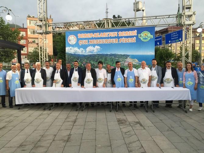 3. Derepazarı Pide ve Turizm Festivali Yapıldı