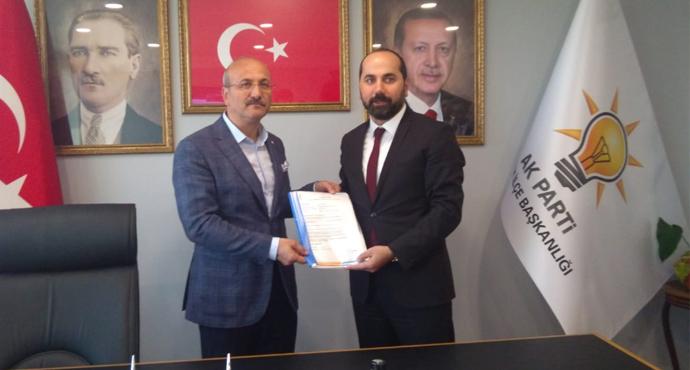 Av.Emrullah Gözcü İstanbul'dan Belediye Başkanlığına Aday Oldu