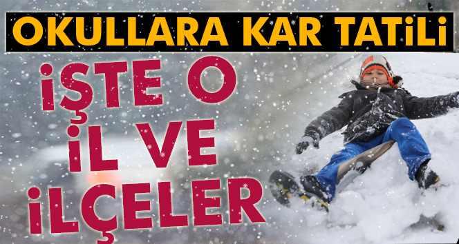 Türkiye'de yarın (11 Ocak) okullar tatil mi?
