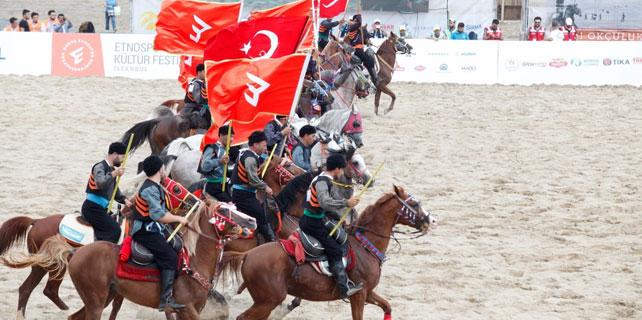 Rize, Etnospor Festivali'nde temsil ediliyor