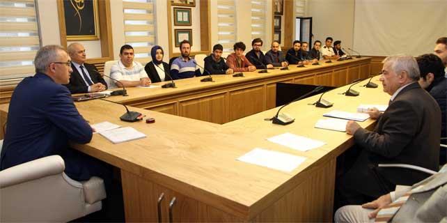 RTEÜ'de öğrenci konseyi seçimi yapıldı