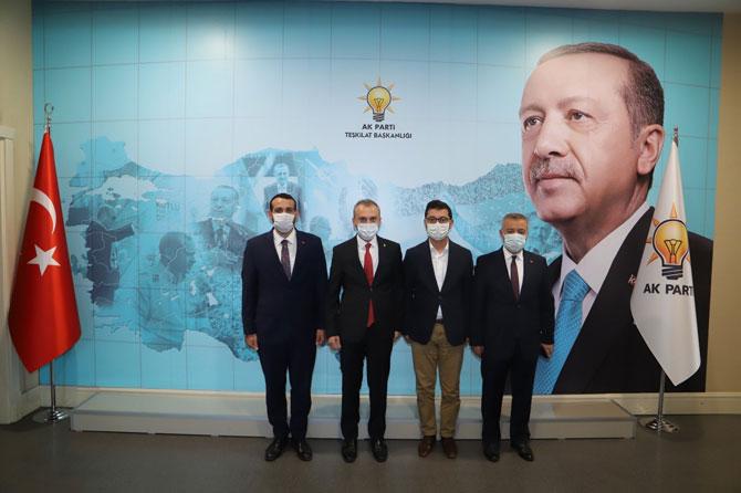 AK Parti Rize Merkez İlçe Başkanı Köse Bırakıyor. Yeni Başkan Burak Ak Olacak