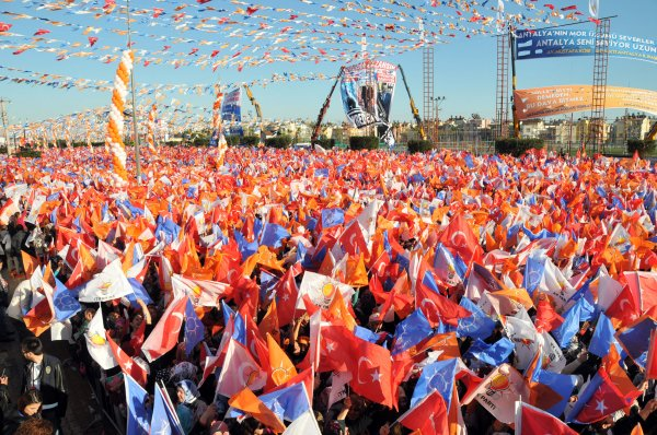 AK Parti'nin seçim sloganı: Vakit Türkiye vakti