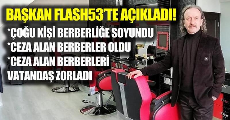 Başkan Mustafa Gündoğan, ilk kez Flash53'e açıkladı