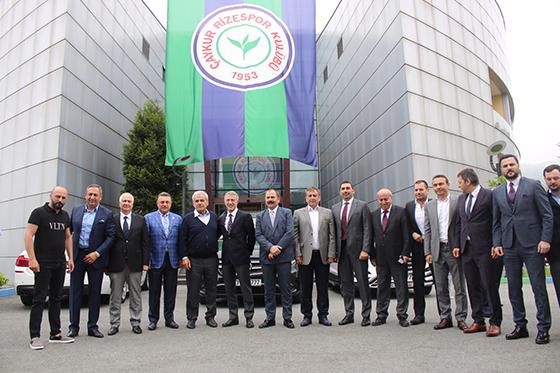 Başkan Yardımcı Ahmet Ağaoğlu ile Bir araya Geldi.