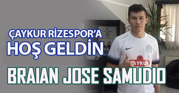 BRAİAN JOSE SAMUDİO ÇAYKUR RİZESPOR'DA