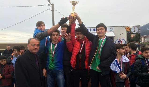 Okullar arası Kros Yarışması şampiyonları belli oldu