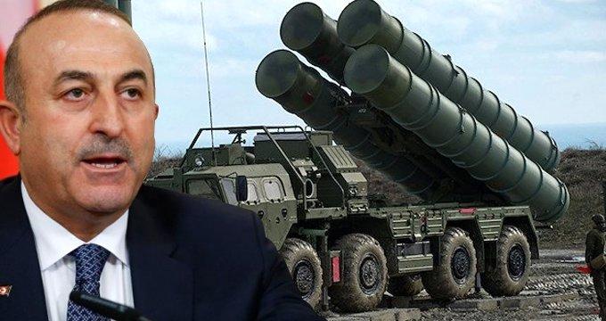 Cavuşoğlu: S-400'ü erteleme gündemde değil