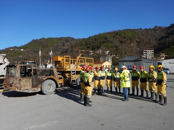 Çayeli Bakır'dan 'Temel Madencilik Eğitimi'