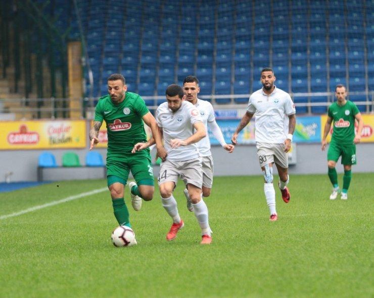 Çaykur Rizespor 3 Golle Kazandı