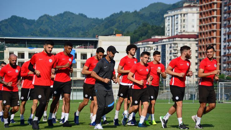 Çaykur Rizespor; Konyaspor maçı hazırlıklarına başladı.