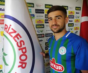 Çaykur Rizespor, Yusuf Acer'i Büyükşehir Belediye Erzurumspor'a Kiralık Gönderdi