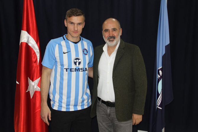 Çaykur Rizesporlu Oleksandr Gladky, Adana Demirspor'da