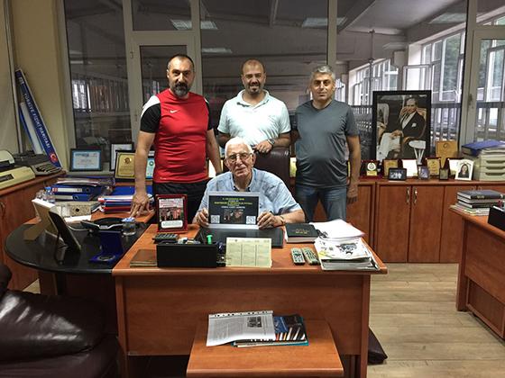 Cemil Akbeniz: Amatör Futbolun Her zaman Yanında Olacağız
