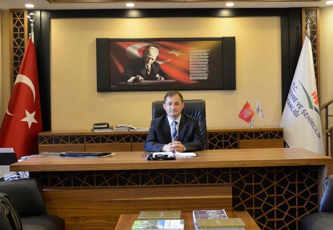 Çevre ve Şehircilik Rize İl Müdürü Hasan Bebek, Çevre ve Şehircilik Bakanlığı Altyapı ve Kentsel Dönüşüm Genel Müdür Yardımcılığına Atandı