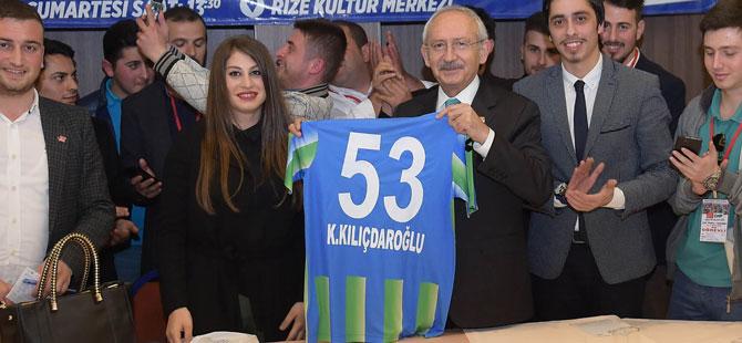 CHP Genel Başkanı Kemal Kılıçdaroğlu, Teşekkür Ziyaretlerini Rize'den Başlatacak