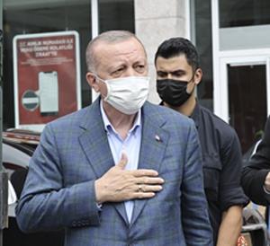 Cumhurbaşkanı Erdoğan: Düzce, Rize ve Artvin selden etkilenen ilçe ve köyler afet bölgesi ilan edilecek