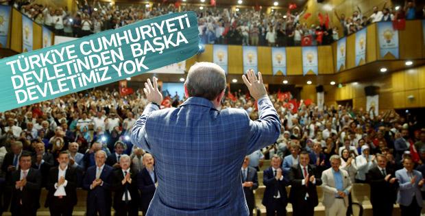 Cumhurbaşkanı Erdoğan devlet tartışmalarına noktayı koydu