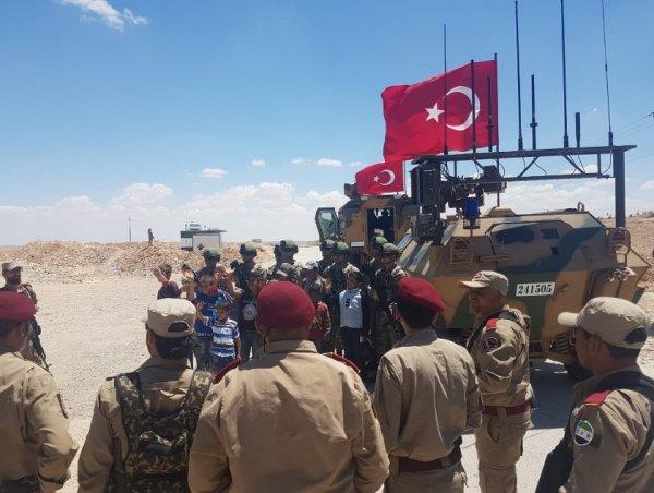 Cumhurbaşkanı: Türk askeri Menbiç'te devriyeye başladı