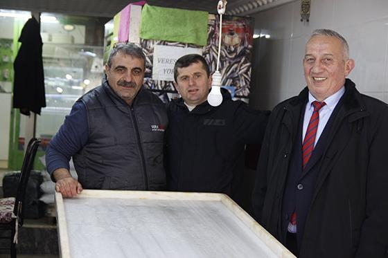 Cumhuriyet Halk Partisi Rize Belediye Başkan Adayı Ayhan Akyüz Esnaf Ziyaretlerini Sürdürüyor