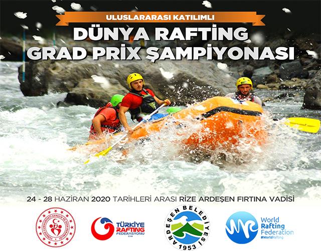 Dünya Rafting Grand Prix Şampiyonası Ardeşen'de