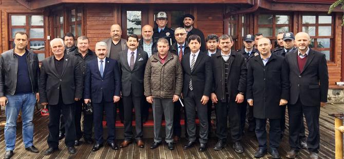 Emniyet Müdürü Aksoy, Mahalle Muhtarlarıyla Bir Araya Geldi