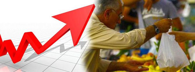 Enflasyon, ocak ayında yüzde 1,02 artarken, yıllık bazda yüzde 10,35 oldu.