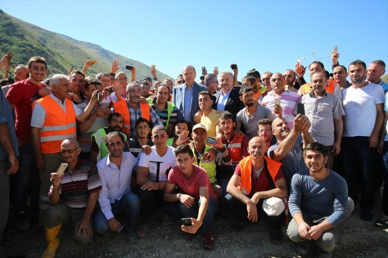 Erdoğan Ovit Tünelini İnceledi