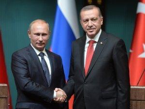 Erdoğan, Putin İle Telefonla Görüştü