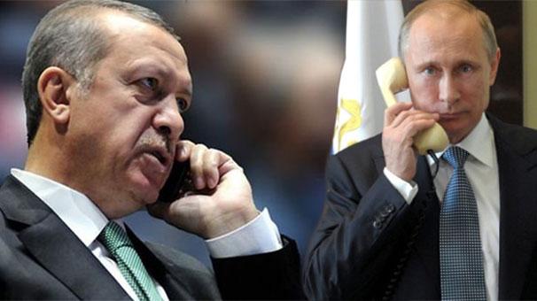 Erdoğan, Putin'le görüştü