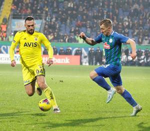 Fenerbahçe ile Çaykur Rizespor 38. Randevuda