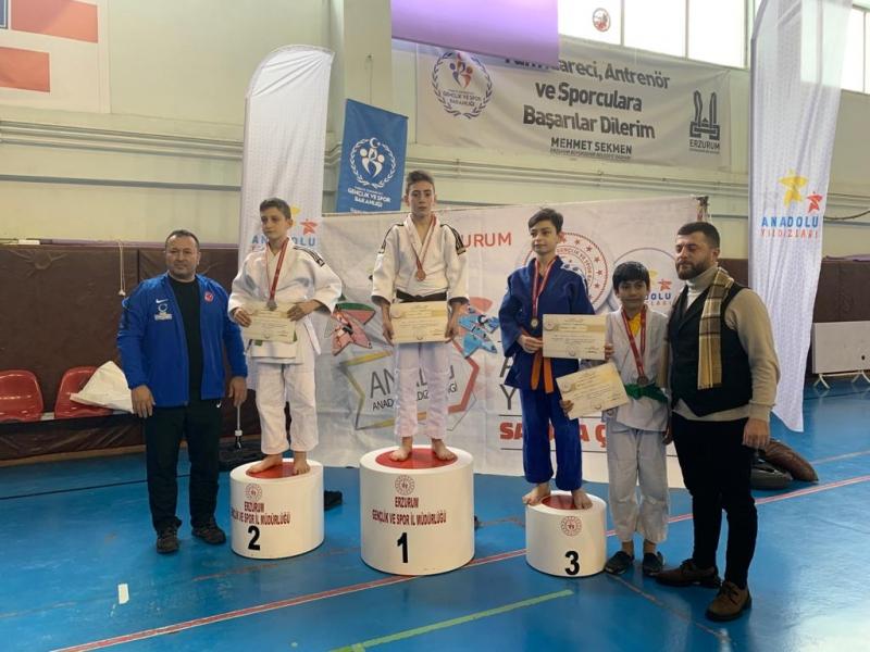 Genç Judocu Kerem Şeker Madalyaları Topluyor