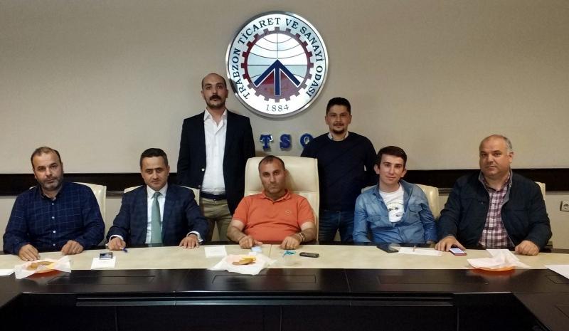 Gürcistan, Azerbaycan ve Karadeniz Bölge Çalışma Grubu Toplantısı  Trabzon'da Gerçekleştirildi.