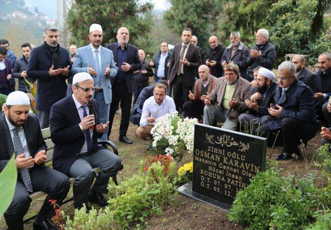 Güzel İnsan Osman Karavin Ölümünün 2. Yıldönümünde Kabri Başında Anıldı
