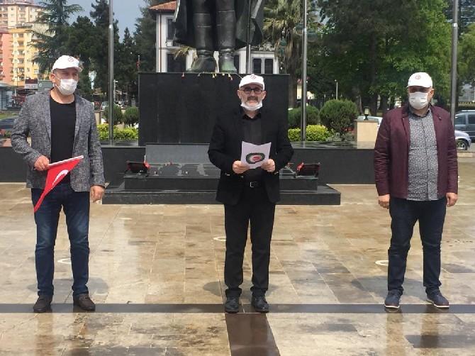 HAK-İŞ'ten Rize'de 1 Mayıs Açıklaması