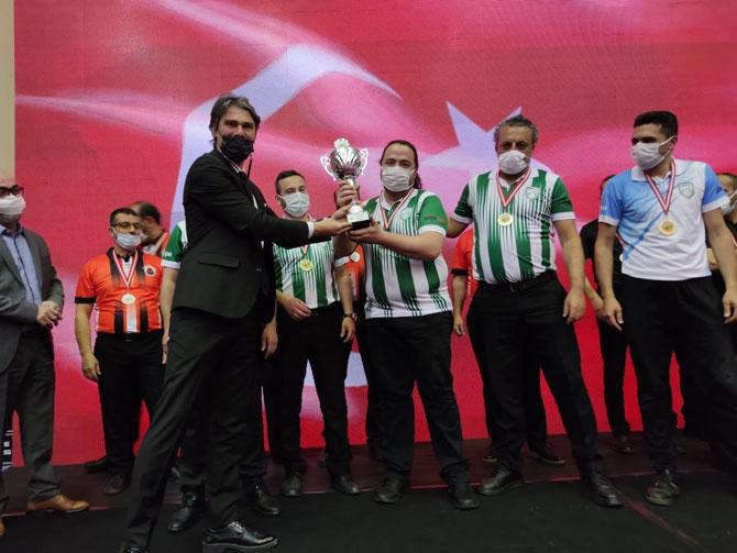 Hemşinspor 3 Bant Bilardo 1. Lig Play Off'ta Türkiye Şampiyonu Oldu