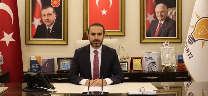 İl Başkanı Alim'den 29 Ekim Cumhuriyet Bayramı Mesajı