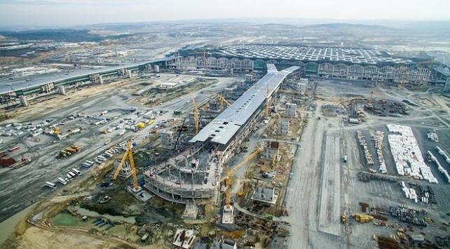 İstanbul Yeni Havalimanı'nın ilk resmi konuğu Cumhurbaşkanı Erdoğan olacak