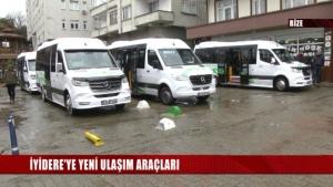 İyidere Belediyesi Özel Halk Otobüslerini Yeniledi