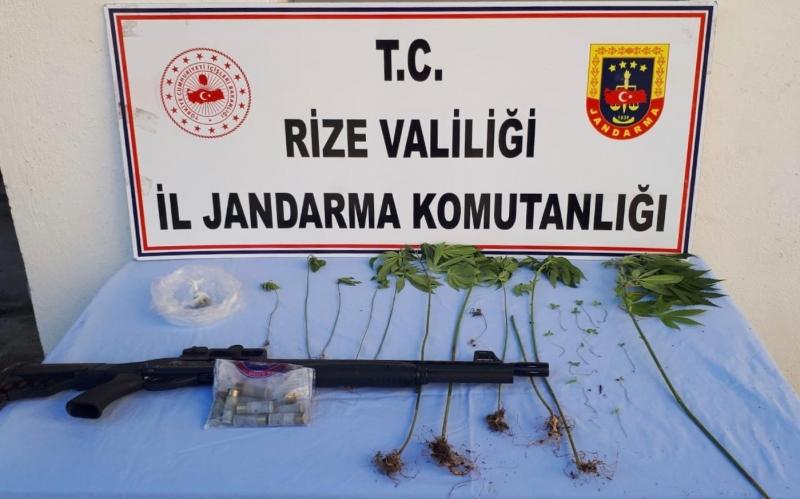 Jandarma Rize'de Göz Açtırmıyor