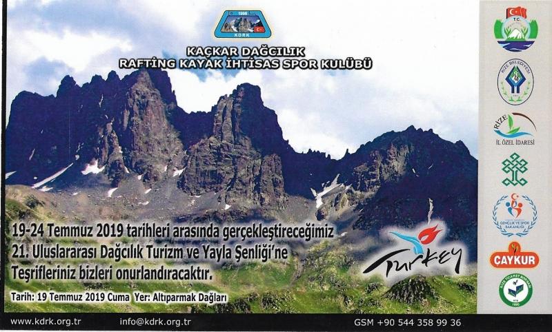 KDRK Altıparmak Dağlarına Tırmanış Gerçekleştirecek