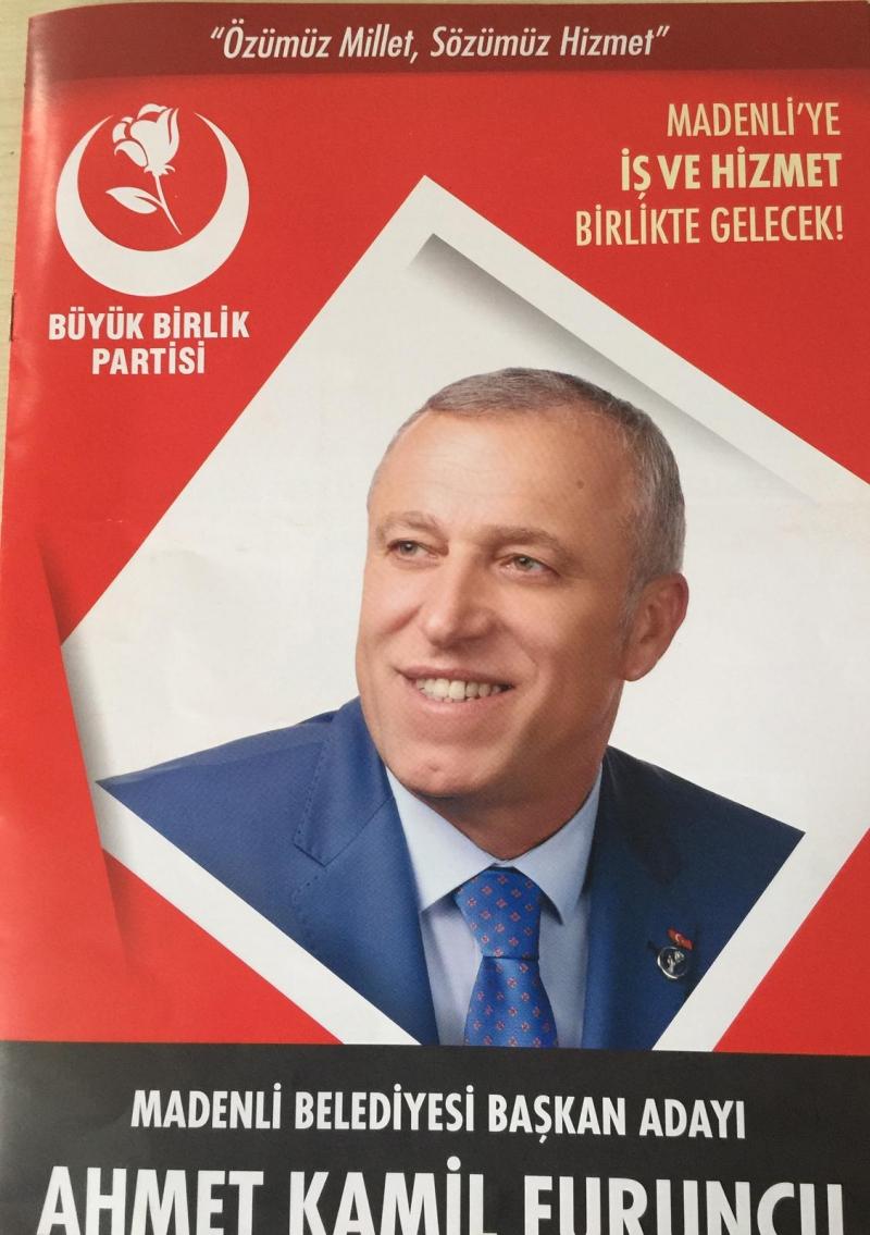 Madenli Belediye Başkan Adayı Ahmet Kamil Furuncu Amacımız Gönüllerde Yer Almak