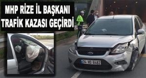 MHP İl Başkanı İhsan Alkan Kaza Geçirdi!
