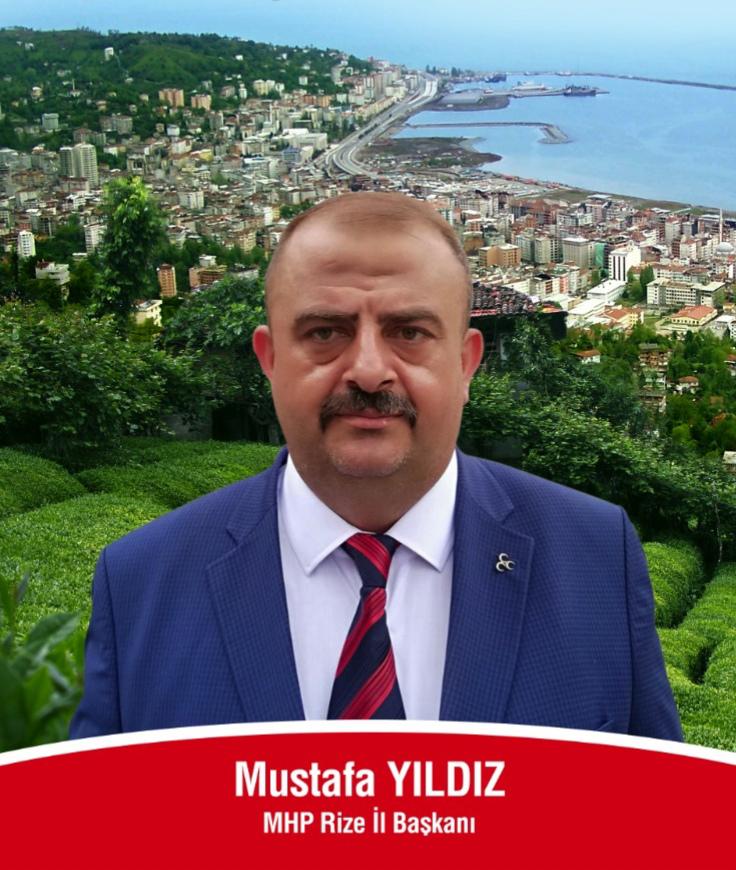 MHP Rize İl Başkanı Mustafa Yıldız'dan Seçmene Teşekkür
