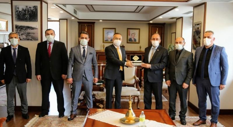 Öz Sağlık İş Genel Başkanı Devlet Sert Rize'de Çeşitli Kurumlarda Ziyaretler Gerçekleştirdi
