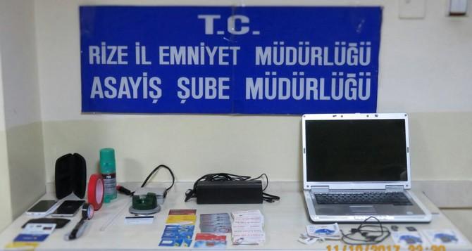 Polisin dikkati ATM Farelerini  yakalattı
