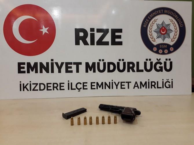 Rize Polisinden Kaçakçılığa Geçit Yok. Aranan 9 Kişi Yakalandı